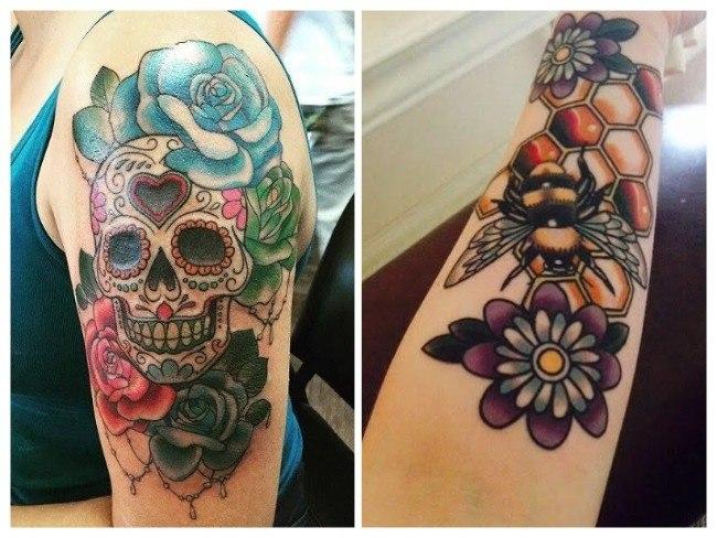 tatuajes super femeninos