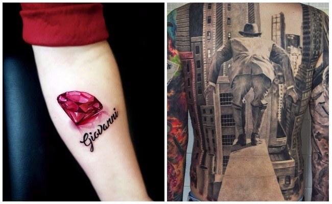 Tatuajes en tres dimensiones fotos