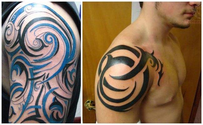 Tatuajes tribales en el antebrazo para hombres