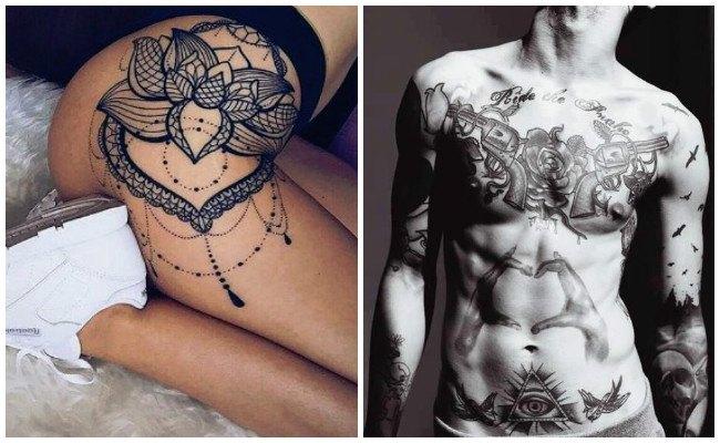 Tatuajes en la tripa para mujeres