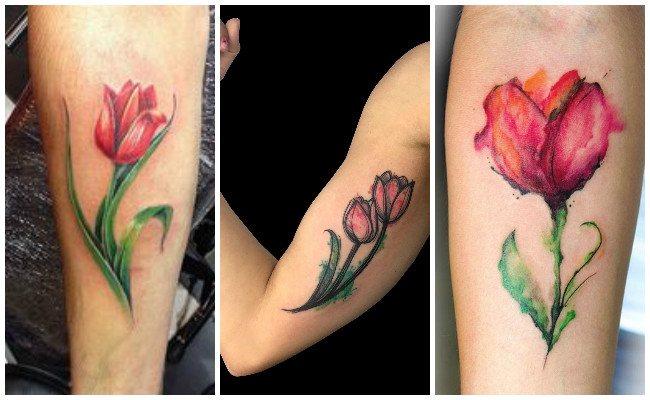 Tatuajes de tulipanes pachuca