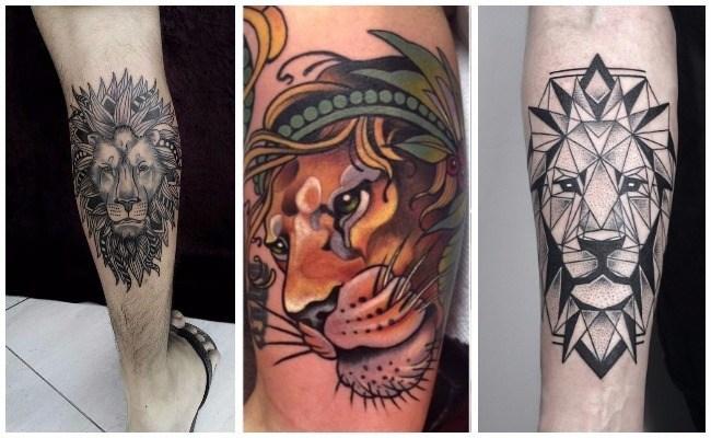 Tatuajes y diseños de leones