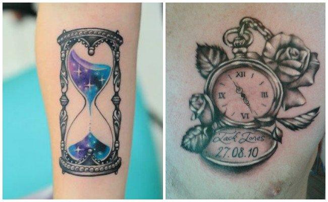 Tatuajes de relojes y su significado