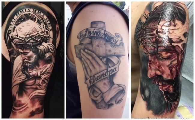 Tatuajes en 3d de Jesucristo