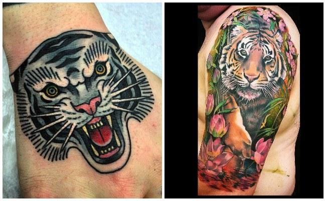 Tigre tattoo Xativa