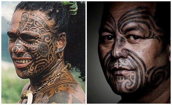 Tipos de tatuajes polinesios