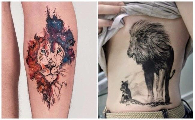 Ver fotos de tatuajes de leones
