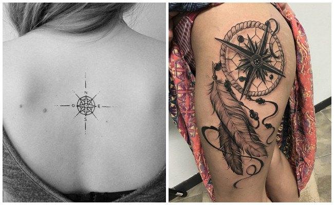 Ver tatuajes de brújulas