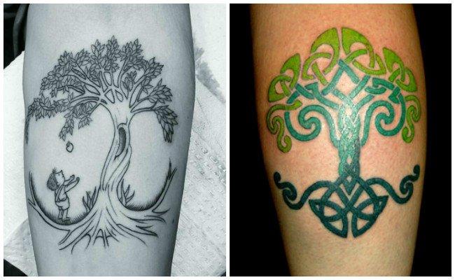 Ver tatuajes de árbol de la vida