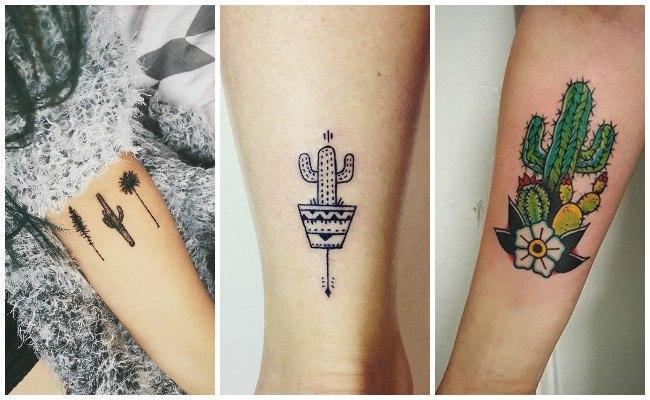 Ver tatuajes de cactus