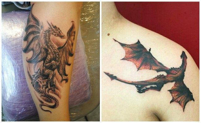 Ver tatuajes de dragones