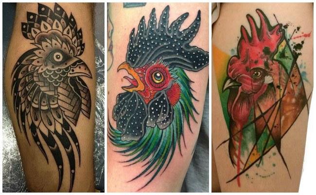 Ver tatuajes de gallos