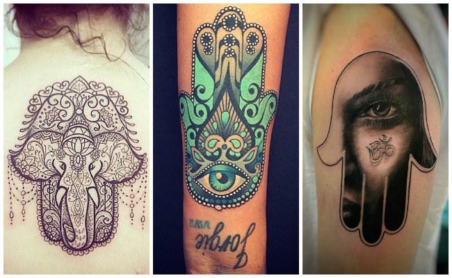 Tatuaje De La Mano De Fátima Y Su Significado Historia Y Diseños