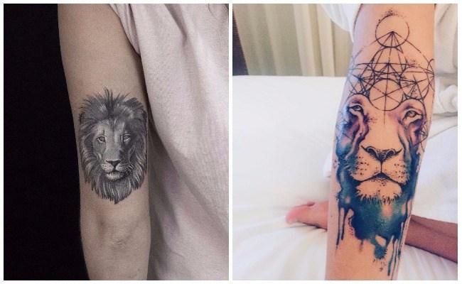 Ver tatuajes de leones