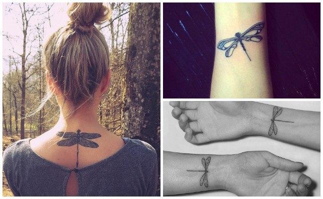 Ver tatuajes de libélulas