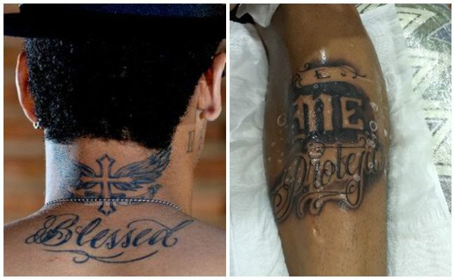 Ver tatuajes de neymar