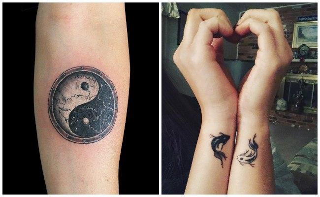 Ver tatuajes de yin yang