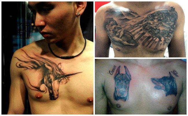 Ver tatuajes en el pecho
