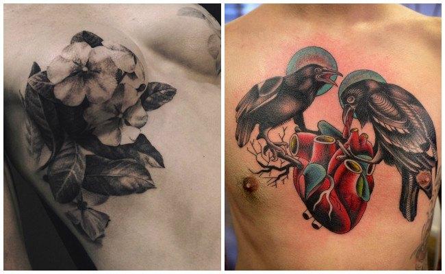 Vídeos de tatuajes en el pecho